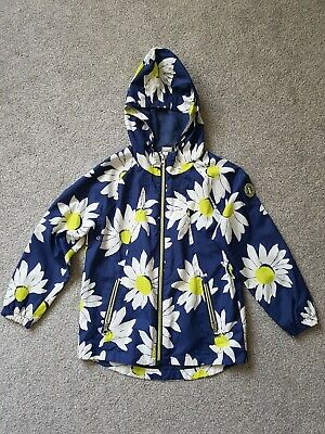 Girls Next Floral Raincoat Jacket Age 8 Years