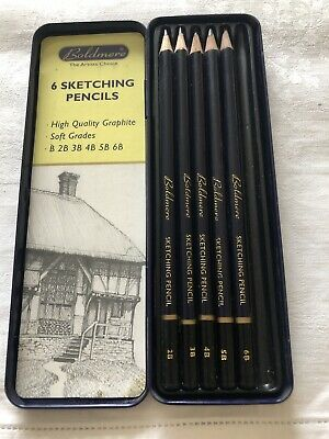 Boldmere Sketching Pencils Tin Set