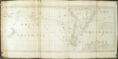 NEW ZEALAND / SOUTH AMERICA /  / Chart containing the greater part of the South