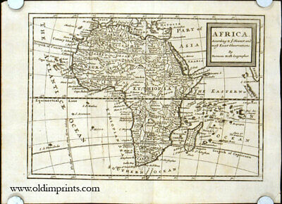 Africa According to ye Newest and most Exact Observations / 1714