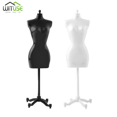 creative support mannequin model for dolls toy dress stand display holder 24A1