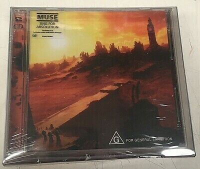 Muse – Sing For Absolution + Butterflies & Hurricanes  - 2CDs+2DVDs Box Set