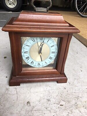 Vintage Hamilton Mantle Clock With Chimes Preowned