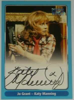 2000 Doctor Who Strictly Ink Definitive 1 Katy Manning Autograph A11