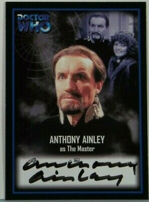 2001 Doctor Who Strictly Ink Definitive 2 Anthony Ainley Autograph AU13