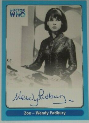 2000 Doctor Who Strictly Ink Definitive 1 Wendy Padbury Autograph A8