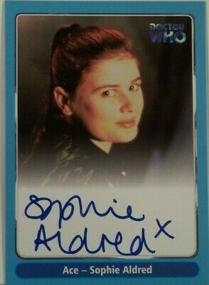 2000 Doctor Who Strictly Ink Definitive 1 Sophie Aldred Autograph A15