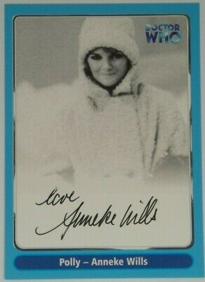 2000 Doctor Who Strictly Ink Definitive 1 Anneke Wills Autograph A6