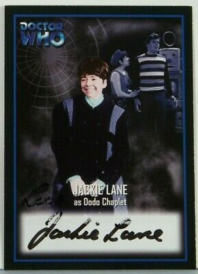 2001 Doctor Who Strictly Ink Definitive 2 Jackie Lane Autograph AU5
