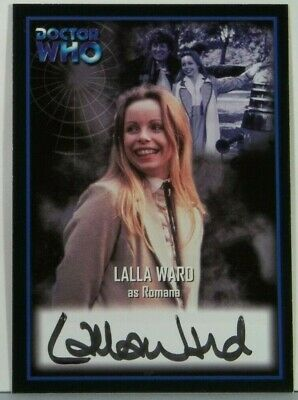 2001 Doctor Who Strictly Ink Definitive 2 Lalla Ward Autograph AU1