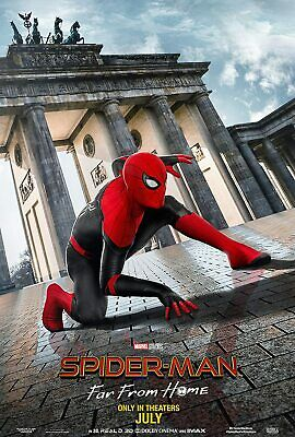 Spider Man Far from Home & Avengers Endgame Posters Movie Promo 11 x 17 inches
