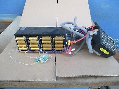 Large aluminum cooling block with fan