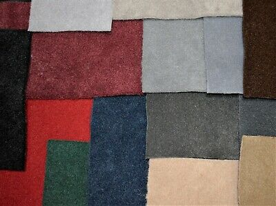 """Auto Pro 18 OZ. Premium Automotive Carpet Upholstery Fabric 40""""W By The Foot"""