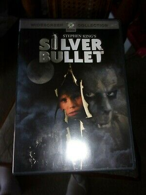Silver Bullet - Dvd - Stephen King- Widescreen- Watched Once!!