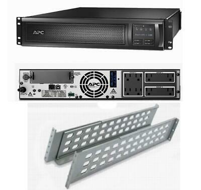 APC SMX1500RM2U Smart-UPS Power Backup LCD 1500VA 1000W 120V Rack mountable REF