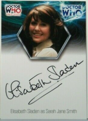 2003 Doctor Who Strictly Ink 40th Anniversary Elisabeth Sladen Autograph WA15