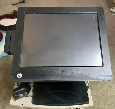 Complete HP POS (cash register) Touch Screen system