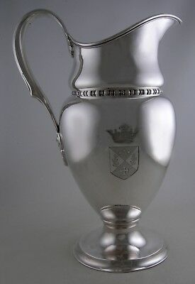 Sterling Tiffany & Co. MAKERS 14068M (1900) water pitcher