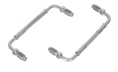 Seat Leon1.8 20V Cupra R Front Bigg Red HEL Braided Brembo Caliper Link Pipes