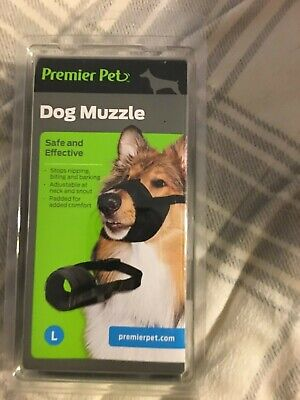 Premier Pet Dog Muzzle Safe and Effective Brand New