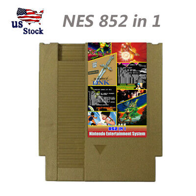 852 in 1 (405 + 447) NES Games For Nintendo Cartridge Multi Cart 405 447 in1 USA
