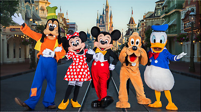 10-One (1) Day Park Hopper Ticket/Pass - Disney World, Magic Kingdom, Epcot,etc.