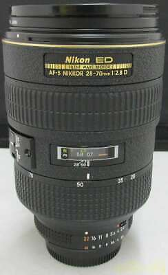 NIKON Telephoto Zoom Lens AF-S 28-70MM F2.8D ED (With Garbage)