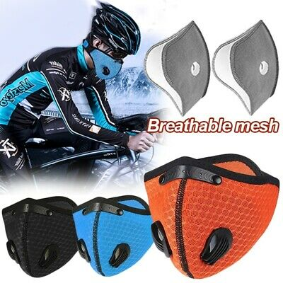 Dustproof Motorcycle Half Face Shield Outdoor Breathable Cycling Mouth Covers
