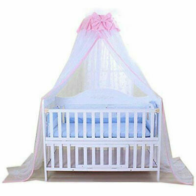 Baby Mosquito Net Baby Toddler Bed Crib Dome Canopy Butterfly Netting With Stand