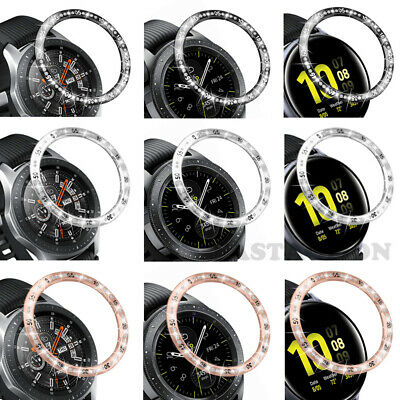 For Samsung Galaxy Watch Active 40/42/44/46mm Metal Bezel Ring Protection Case