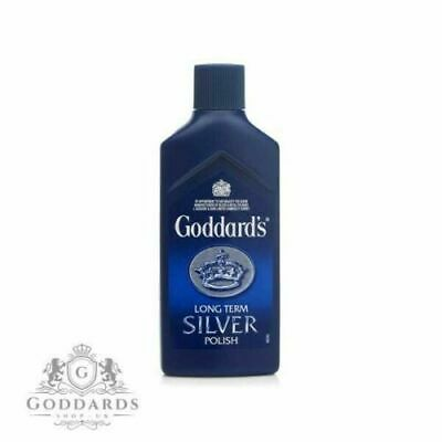Goddards Long Term Silver Polish 125ml Quick and Easy Inhibits Re-Tarnishing