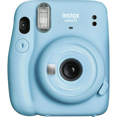 NEW! Fujifilm Instax Mini 11 Instant Film Print Camera (Sky Blue) #16654762