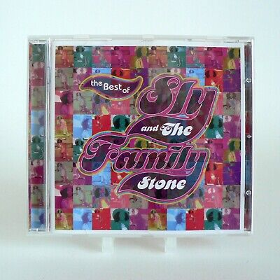 Sly & The Family Stone - The Best Of (CD 1998) vgc 5099747175824 - Epic 471758 2