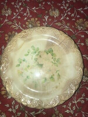 18k Gold Trim Collector Plate