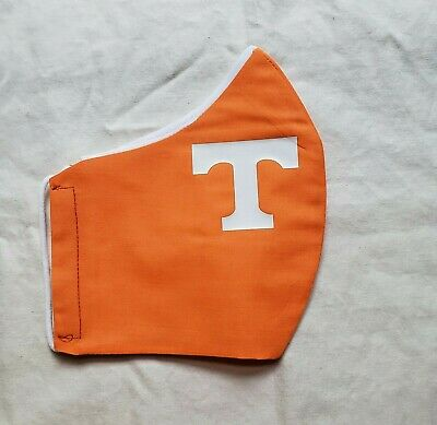 Face Mask * TENNESSEE VOLS * 100% Cotton Adult