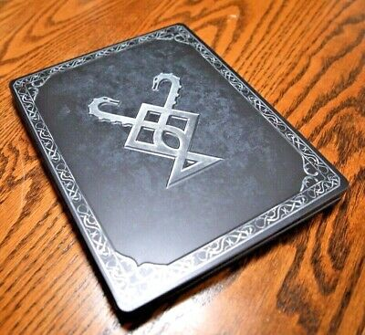 God Of War PS4 Stone Mason Collector's Limited Edition Steelbook Case (No Game!)