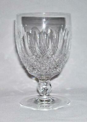 WATERFORD ~ Elegant Quality Crystal 8 Oz. WATER GOBLET GLASS (Colleen) ~ Ireland
