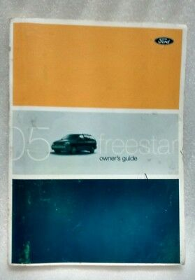 2005 Ford Freestar Owner's Guide Part # 5F2J-19A321-AA