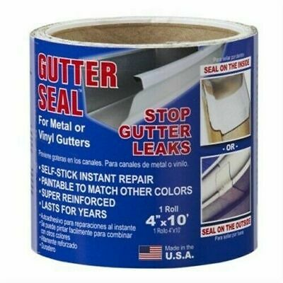"Co-Fair Products GL410 4"" x 10' Gutter Seal Roll"