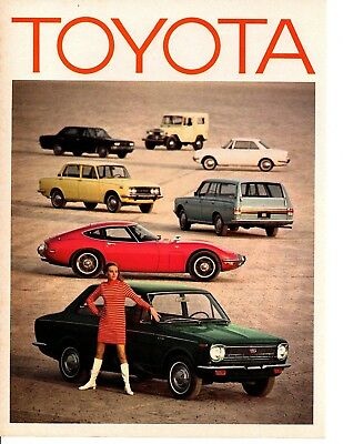 1968 Toyota Corolla ~ Original 4-Page Road Test / Article / Ad
