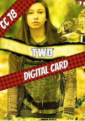 Topps Card Trader Twd The Walking Enid Gold Torn Wave 1 2020 Digital Card