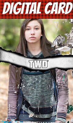 Topps Card Trader Twd The Walking Enid Standard Torn Wave 1 2020