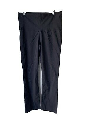 MATERNITY SOON Melbourne Black Pull On PANTS Size 16 Excellent Condition