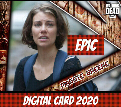 Topps Card Trader Twd The Walking Dead Maggie Greene Triangular Deconstructed