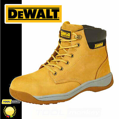 Dewalt Safety Work Boot - Builder Honey Tan - Steel Toe - Leightweight - SB SRA