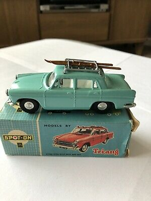 Triang Spot On reproduction silver plastic roofrack Humber PA Austin A60 etc