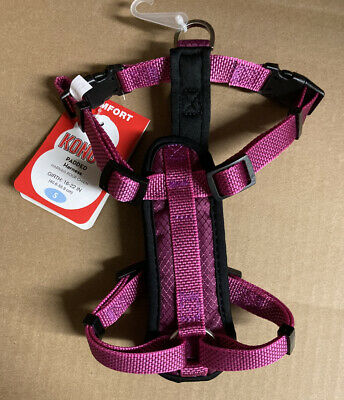 Kong Small Pink Comfort Padded Harness NEW FREE SHIPPING