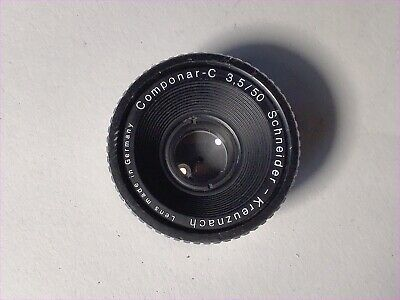 Schneider-Kreuznach 50mm F3.5 Enlarger Lens - Clear Optics