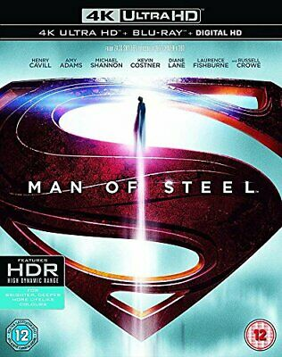 Man of Steel [Includes Digital Download] (4K Ultra HD Blu-ray) [DVD][Region 2]