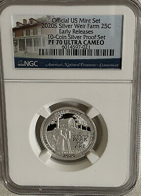 2019 S FIRST DAY OF ISSUE 25C River of NO Return 999 SILVER Quarter NGC PF 70 UC
